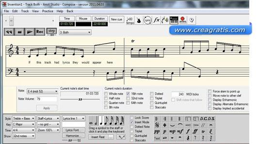 Programma per creare file Midi