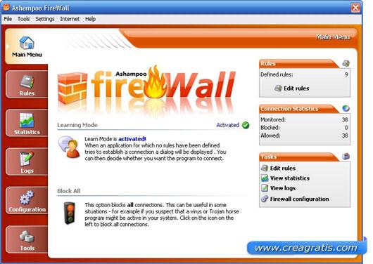 Quinto firewall da scaricare gratis