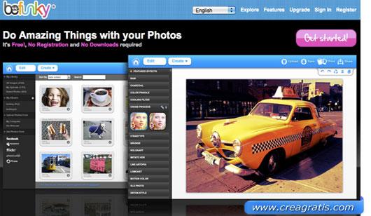 Terzo sito per modificare foto con effetti