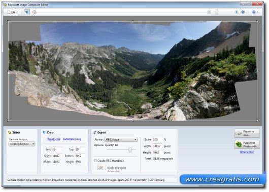 Programma gratis per creare foto panoramiche 3D