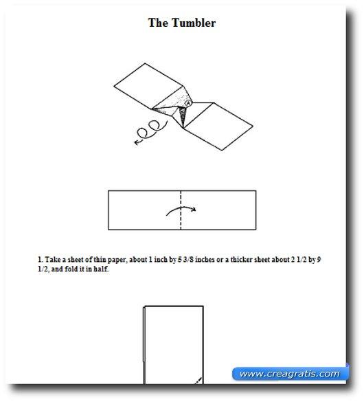 Terzo sito per imparare a costruire aerei di carta