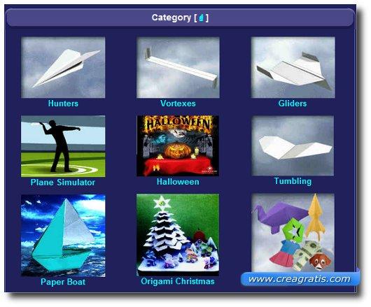 Secondo sito per imparare a costruire aerei di carta