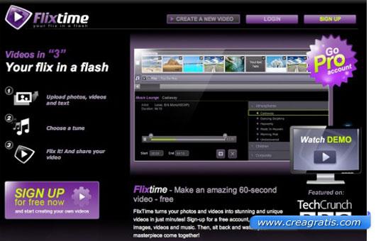 Nono sito per creare slideshow