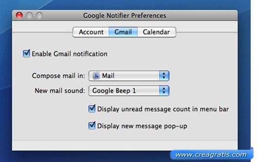 Terzo programma per la gestione della posta elettronica