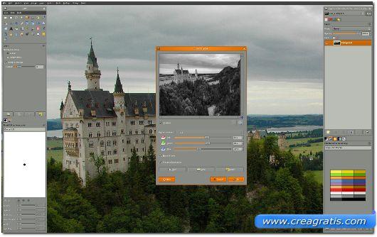 Primo programma di grafica per Linux