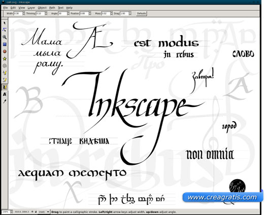InkScape in alternativa a CorelDraw e Adobe Illustrator