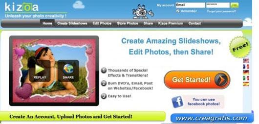Quinto sito per creare slideshow
