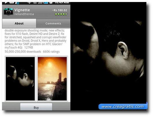 Modificare foto tramite Applicazioni per Android