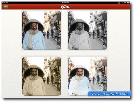 Prima App per iPad per Effetti Speciali su Foto