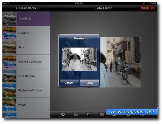 Seconda App per iPad per Effetti Speciali su Foto