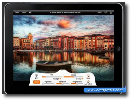 Sesta Applicazione per iPad 2 per foto e fotomontaggi