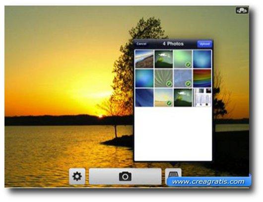 Seconda Applicazione per iPad 2 per foto e fotomontaggi