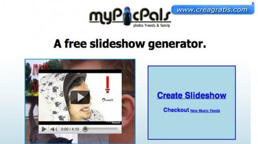 Terzo sito per creare slideshow