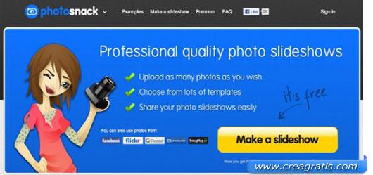 Decimo sito per creare slideshow