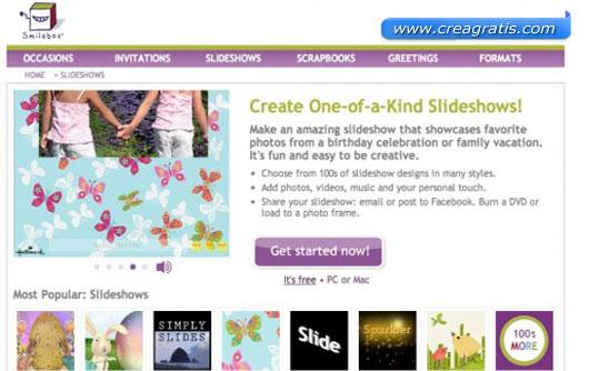 Quarto sito per creare slideshow