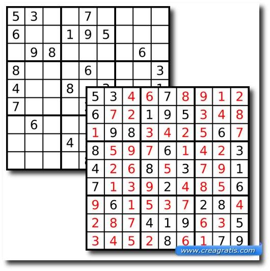 Ripassata sulle regole del sudoku