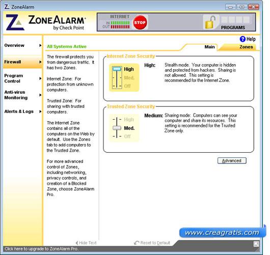 Terzo firewall da scaricare gratis