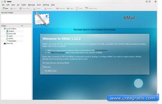 Quarto programma di posta elettronica per Linux