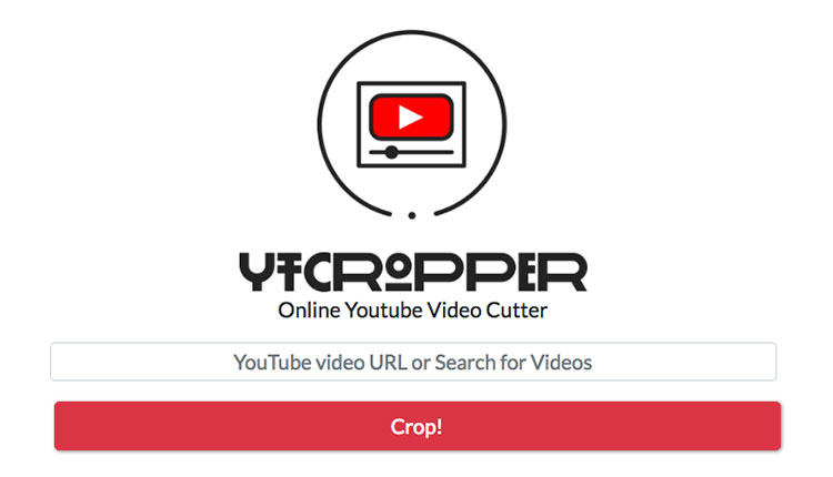 YTcropper: sito per tagliare video