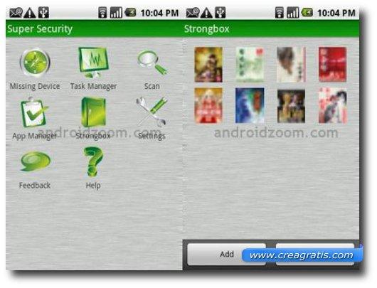 Terzo antivirus per cellulari Android