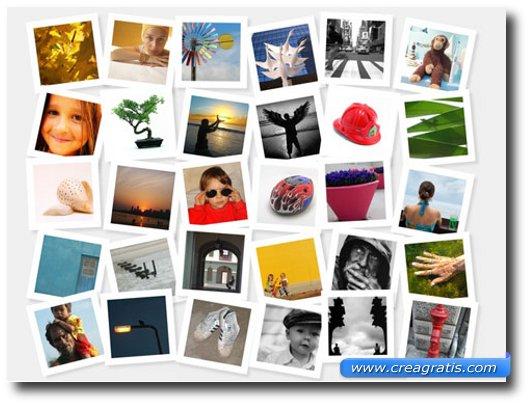 Quarto sito con effetti speciali per foto