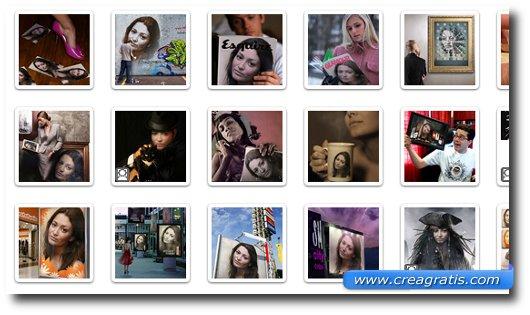 Primo sito con effetti speciali per foto