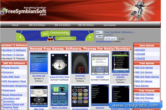 Primo sito per scaricare giochi per cellulari gratis