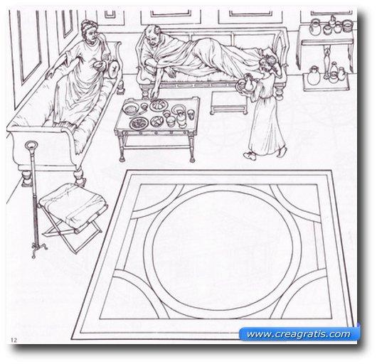 Disegni antichi romani da stampare