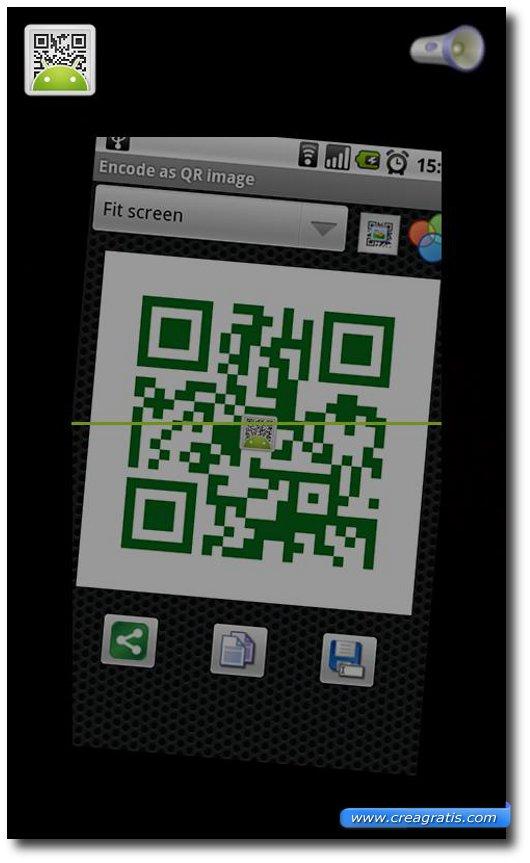 Come creare codici QR con Android