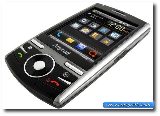 Immagine generica di uno smartphone