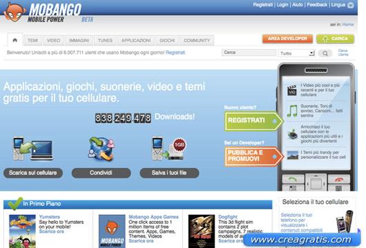 Terzo sito per scaricare giochi per cellulari gratis