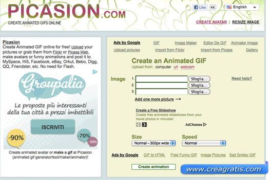 Quarto sito per creare GIF animate
