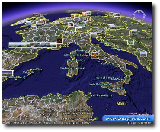 Immagine di esempio di geotagging