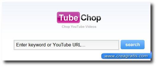 Primo sito per tagliare video YouTube