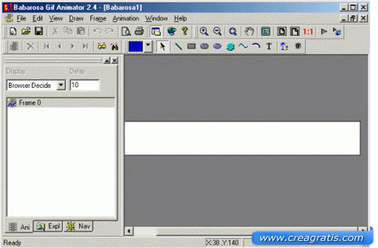 Secondo software per creare GIF Animate