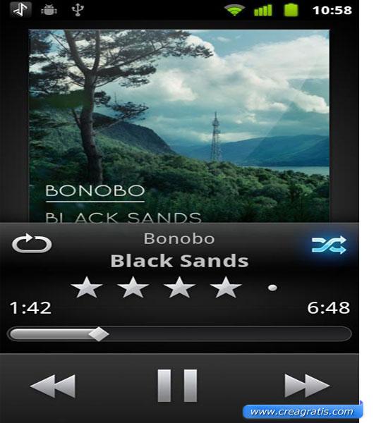 Prima App per ascoltare musica su Android
