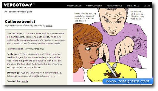Primo sito con giochi di parole in inglese