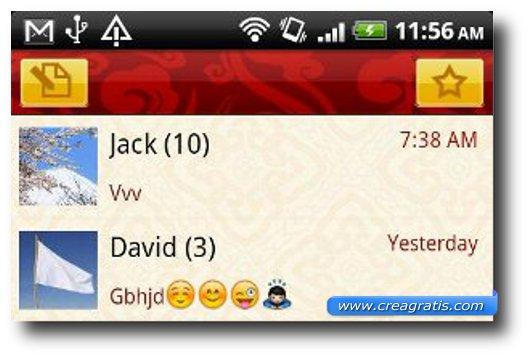 Terza App per inviare SMS e MMS su Android