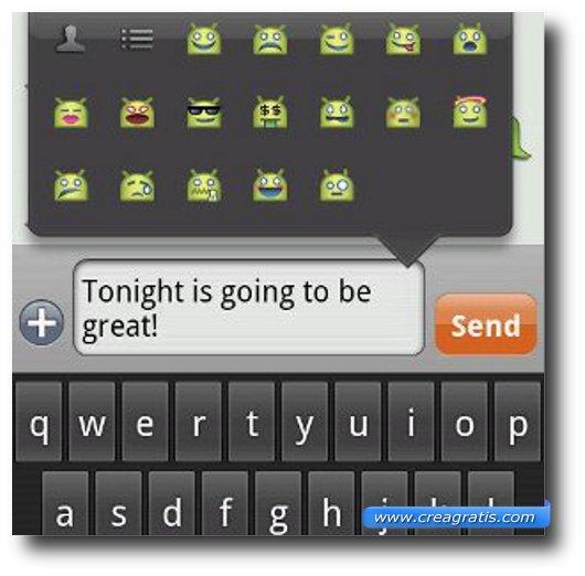 Prima App per inviare SMS e MMS su Android