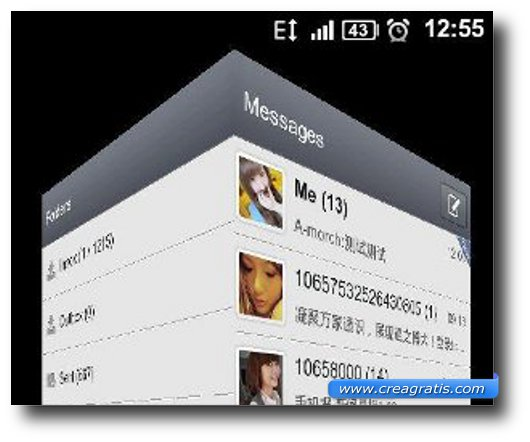 Seconda App per inviare SMS e MMS su Android