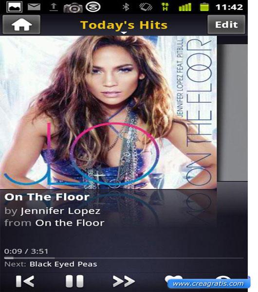 Seconda App per ascoltare musica su Android