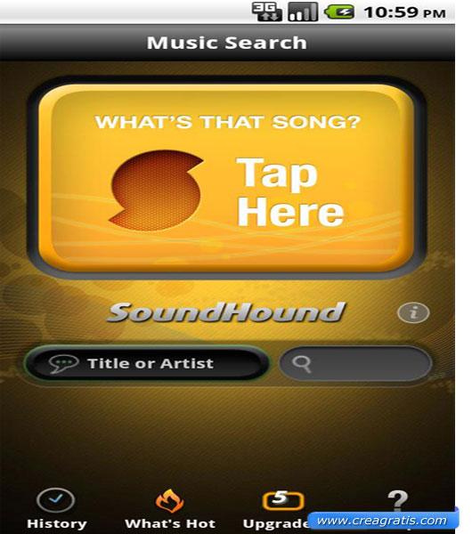 Terza App per ascoltare musica su Android