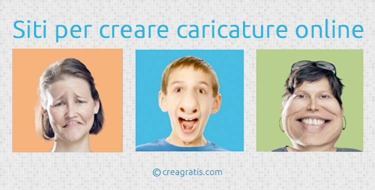 Siti per creare caricature online