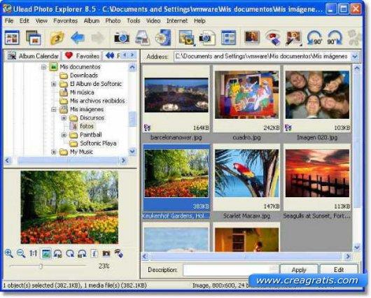 Terzo software free per la gestione di foto