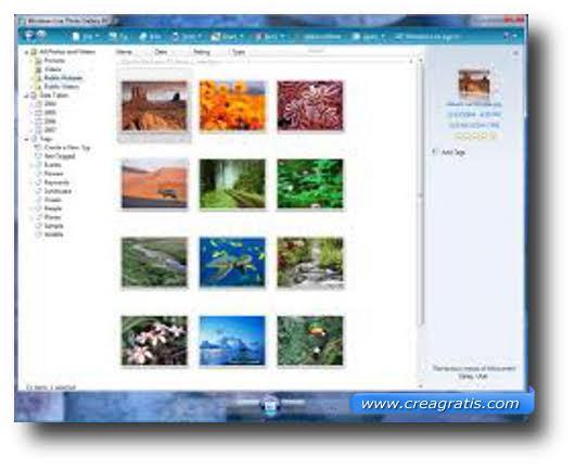 Secondo software free per la gestione di foto