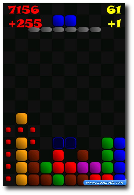 Secondo gioco del Tetris per Android
