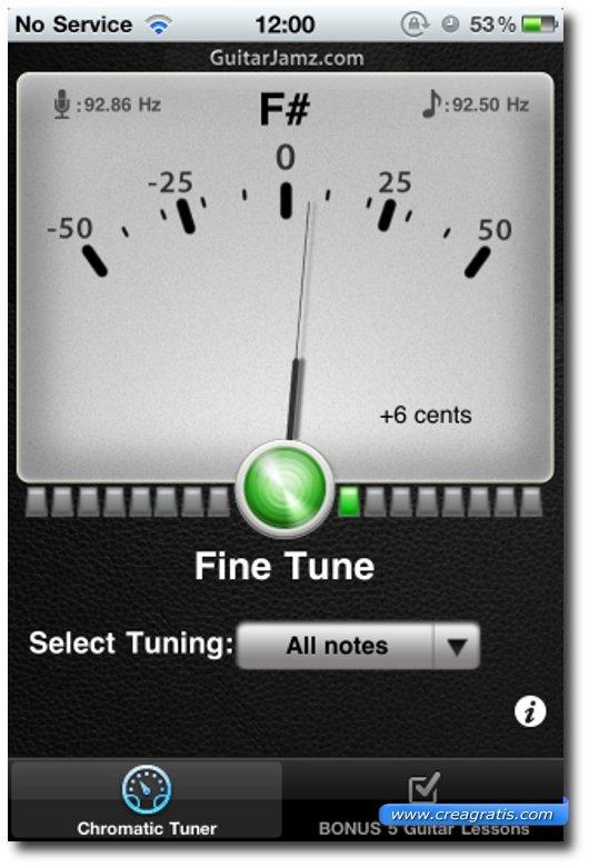 Seconda app per imparare a suonare la chitarra su iPhone e iPad