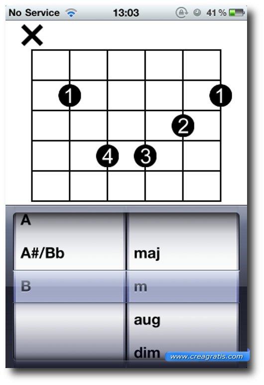 Terza app per imparare a suonare la chitarra su iPhone e iPad