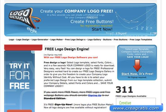 Ottavo sito per creare un logo online