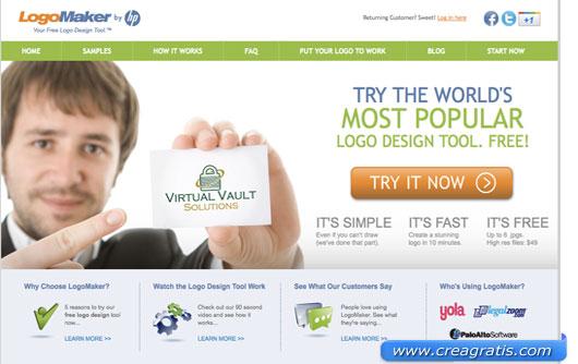 Secondo sito per creare un logo online